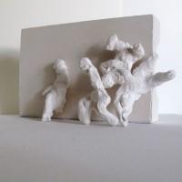 Figure group 3, plaster